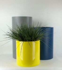 Tall Cylinder Planters GRP From potstore.co.uk